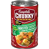 Campbell's Chunky Healthy Request Roasted Chicken with Country Vegetables Soup, 18.6 oz. Can (Pack of 12)