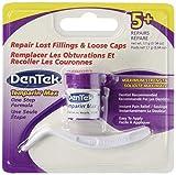 DenTek Temparin Max Lost Filling and Loose Cap Repair Kit   One Step Formula   5+ Repairs   0.04 Ounces   1-Pack