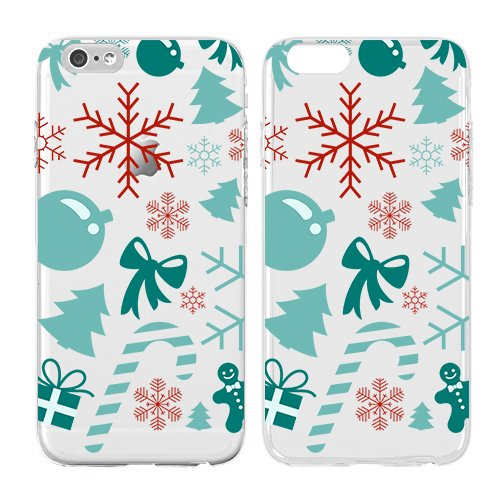 Christmas Iphone Case, Cool Christmas Gifts, Pastel Soft Flexible Transparent Skin, Scratch Proof Protective Slim Case for iPhone 5C