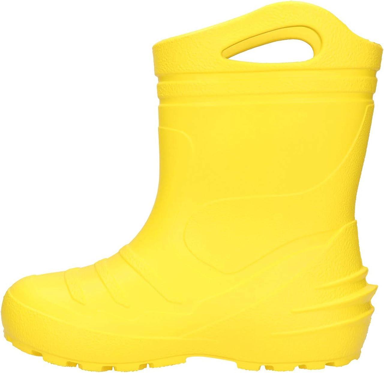 FUZZIO Kinder SeSeGrip Gummistiefel Regenstiefel leichte gef/üttert