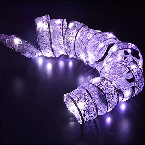 Nevera Christmase Lights,40 LED Ribbon Window Curtain Lights String Lamp House Party Decor Striking for Wedding Xmas Party (Multicolor)