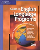 Peterson's Guide to English Language Programs 2001, Peterson's Guides Staff, 076890451X