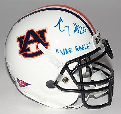 312ab8f74e9 Amazon.com  Corey Grant Signed Auburn Tigers Mini Helmet Inscribed ...