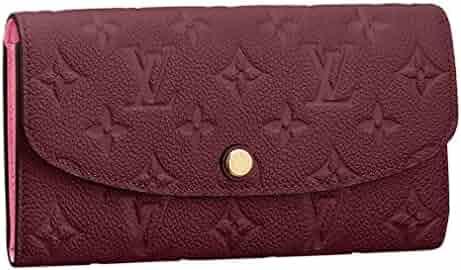 eed3bf077aa2c0 Louis Vuitton Monogram Empreinte Leather Emilie Wallet Raisin Article   M62015
