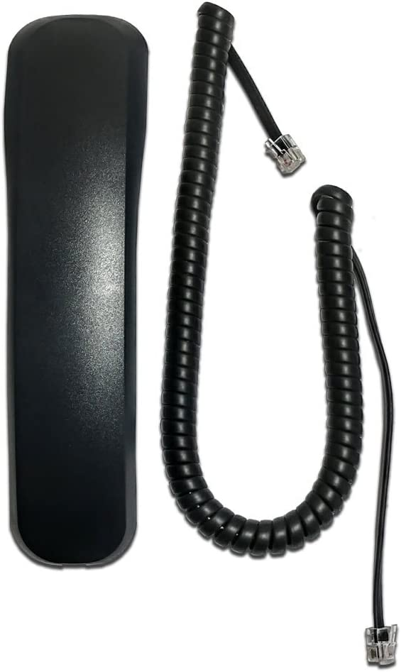 Handset Compatible with Panasonic KX-DT 300, KX-NT 300, and KX-UT Series with 9ft Curly Cord (Model # PSJXN0134Z)