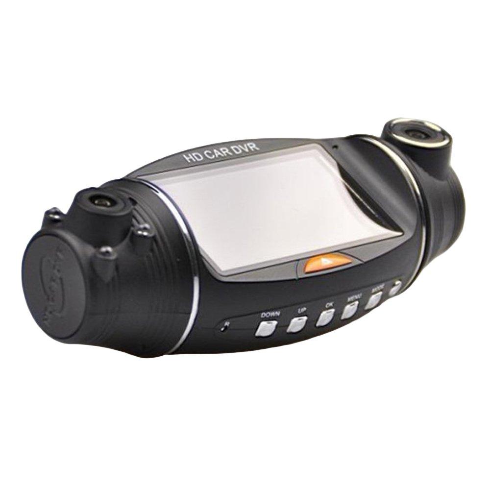 WINOMO Dash Cam Dual Lens Car DVR Dashboard Camera 140 Degree Recorder Wide-angle Night Vision Gravity Sensor Vehicle Recorder with GPS