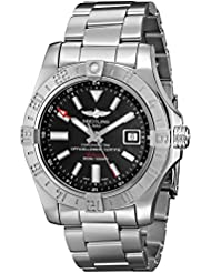 Breitling Mens BTA3239011-BC35SS Avenger II GMT Analog Display Swiss Automatic Silver Watch