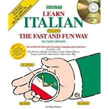 Italian the Fast and Fun Way with Compact Discs
