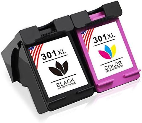 Toner Kingdom 2 Pack Compatibles HP 301XL 301 XL Cartucho de tinta ...