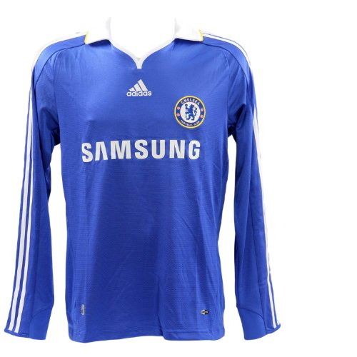 Adidas - maillot chelsea - e08158 - bleu baskets mode maillot / short / foot