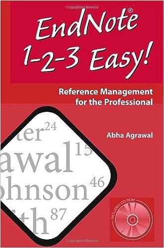 `PORTABLE` EndNote 1 - 2 - 3 Easy!. Erasmus durable become Washers activo Celia Harvard