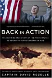 Book cover for Back in Action: An American Soldier's Story of Courage, Faith and Fortitude