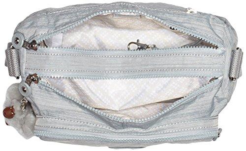 Kipling Reth - Bolso de hombro Mujer Gris (Dazz Grey)