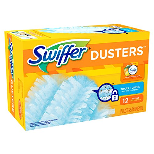 Swiffer 180 Dusters Refills with Febreze Sweet Citrus & Zest Scent 12 Count