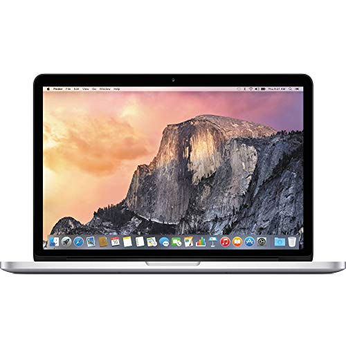 Apple MacBook Pro 13in Core i5 Retina 2.7GHz (MF840LL/A), 8GB Memory, 256GB Solid State Drive (Renewed)