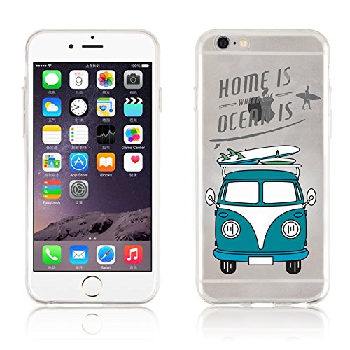 iPhone 6s Plus Case, iPhone 6 Plus Clear Case, JAMMYLIZARD® Invisible Gel...