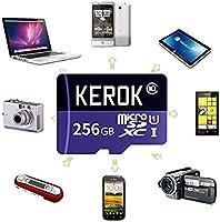 Tarjeta de Memoria Micro SD SDXC 256 GB de Alta Velocidad Clase 10 ...