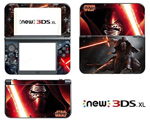 Vanknight Vinyl Decals Skin Sticker Kylo Ren for the New Nintendo 3DS XL 2015 (Nintendo 3ds Xl Star Wars)