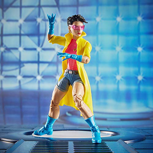Marvel Hasbro Legends Series 6-inch Collectible Action Figure Jubilee Toy (X-Men Collection) Caliban Build-a-Figure Part by Marvel (Image #7)