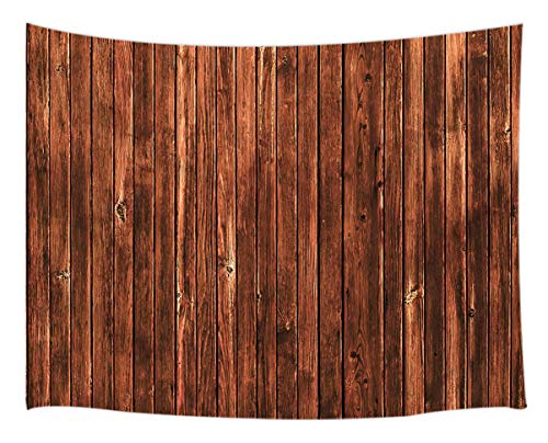 - Brown Wood Tapestry Wall Hanging, Rustic Barn Wooden Wallpaper Grain Pattern, Tapestries Art Bedroom Living Room Dorm 71 X 60 Inches Wall Blankets Home Decor