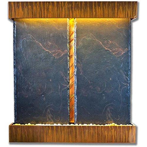 Nojoqui Falls Lightweight Double NSI Slate Fountain Shroud Finish Copper Patina
