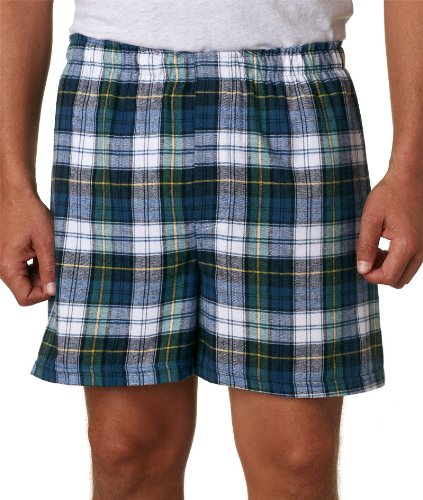 Campbell Flannel - Boxercraft Adult Classic Flannel Boxers - Campbell - 2XL
