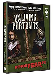 AtmosFX UnLiving Portraits Halloween Digital Decorations