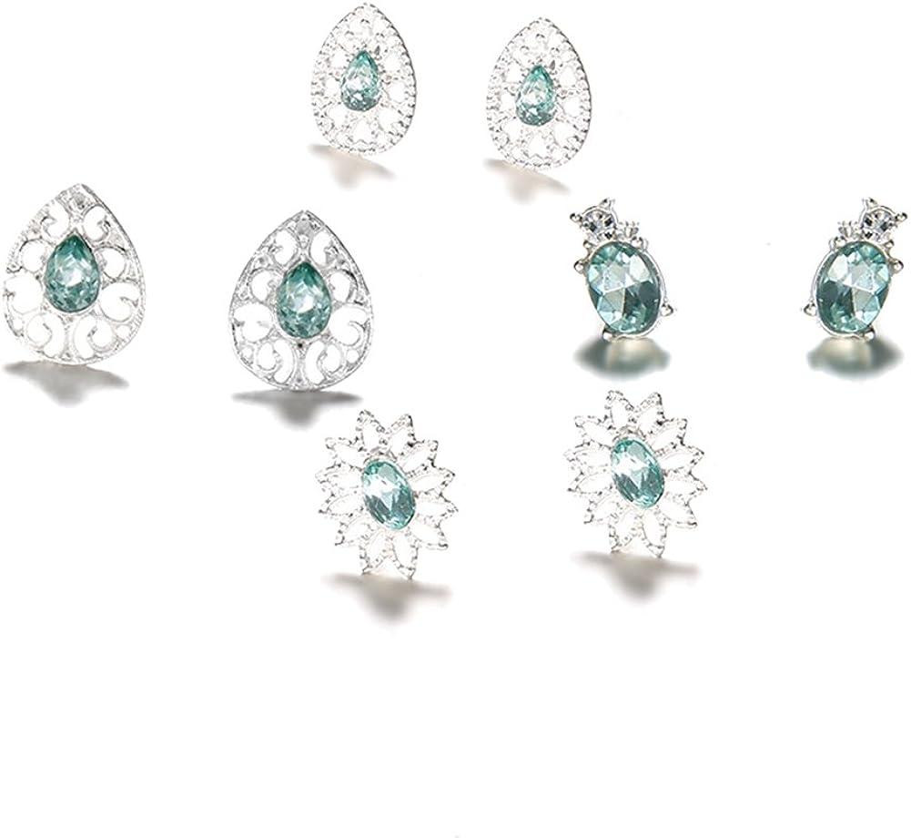 Msyou M/étal Tassel Boucles doreilles longues Temp/érament Strass Boucles doreilles bijoux