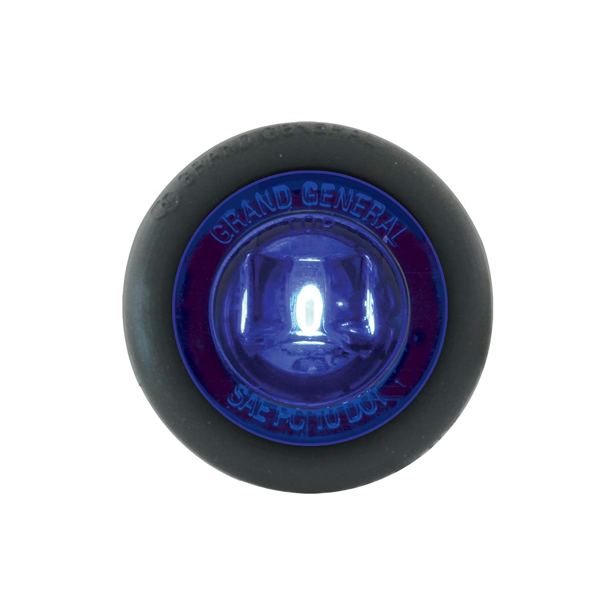 Grand General 75205 Light 1-1//4 Blue 1LED Interior with Grommet, 3 Wires