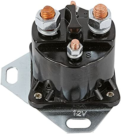 18-5801 DB Electrical SMR6013 OMC Mercury Marine Solenoid 12-Volt w//Grounded Base 89-76416A1 985064