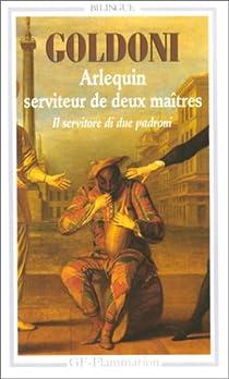 Book's Cover ofArlequin serviteur de deux maîtres