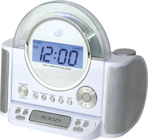 amazon com gpx crcd 6306dt clock radio and cd player with digital rh amazon com 224B GPX Clock Radio Manual GPX Dual Alarm Clock Radio