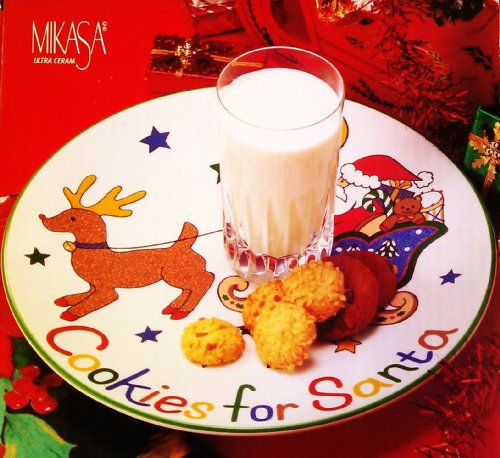 Mikasa Cookies for Santa Plate