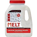 Snow Joe MELT Calcium Chloride Pellets Ice Melter (10 lb. Jug) - MELT10CCP-J