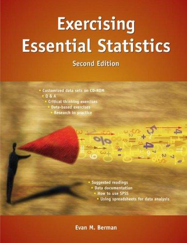 Exercising Essential Statistics (Berman Essential Stats)