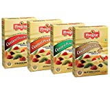 Five Star Custard Powder Mix Combo of Strawberry, Pista, Mango and Butterscotch- 100g Each (Pack of 4)