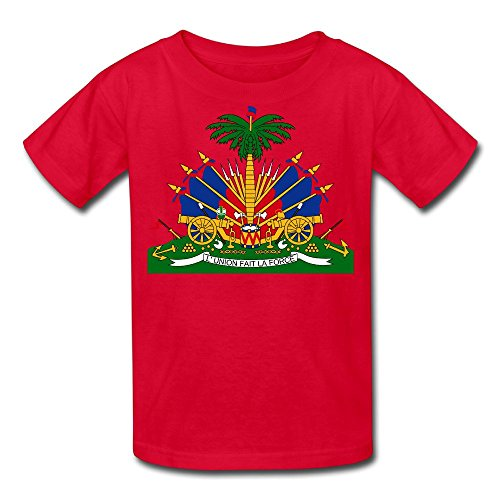 Coat Of Arms Of Haiti Kid's T Shirt ()