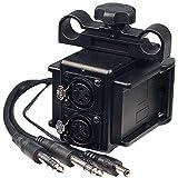 IndiPRO Power Grid & XLR Audio Box with Dual L-Series Plates for Blackmagic Cinema/4K Production Cameras