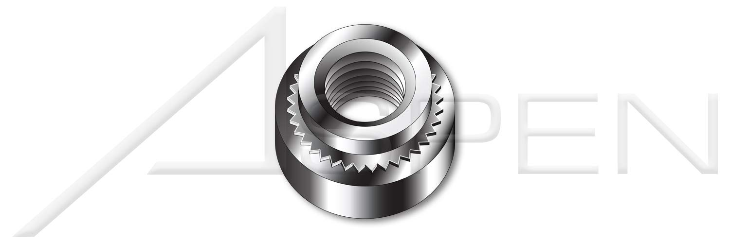18-8 Self-Clinching Nuts #4-40 X 0.038 AISI 304 Stainless Steel 5000 pcs