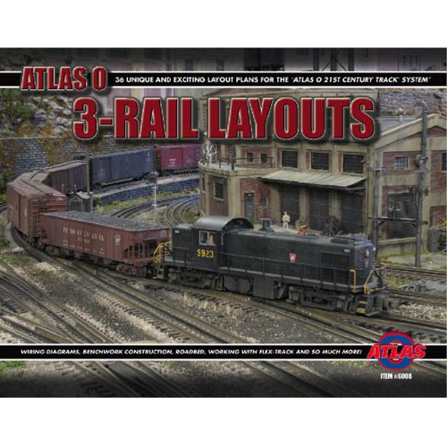 Atlas O Scale 3-Rail Layout Book 2nd Edition for sale  Delivered anywhere in USA