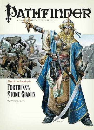 Pathfinder Rise of the Runelords 4: Fortress of the Stone Giants (Pathfinder; Rise of the Ruinlords) (Pathfinder Giants Stone)