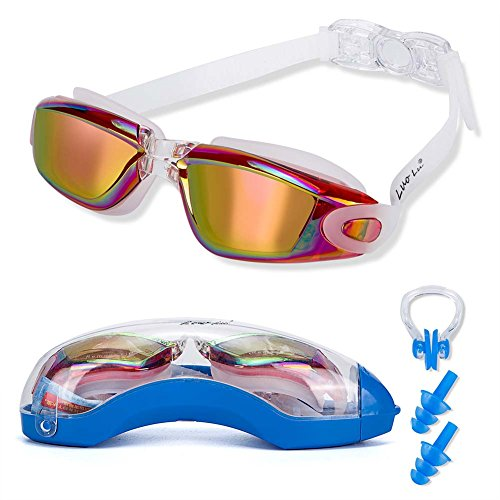 845945598f87 Swim Goggles With Nose Guard