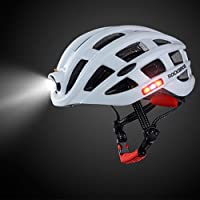 Yosemire Rockbros Outdoor Sports Helmet with Light Mountain Bike Riding Safety Helmet For Cycling Bike Bicycle Riding Helmet