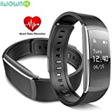 Fitness Tracker Heart Rate Smart Watch Swimming Waterproof Pedometer Wristband