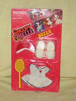 Peanuts Snoopy Sister Belle Knickerbocker Doll Outfit - TENNIS by Belle Fun Fashions
