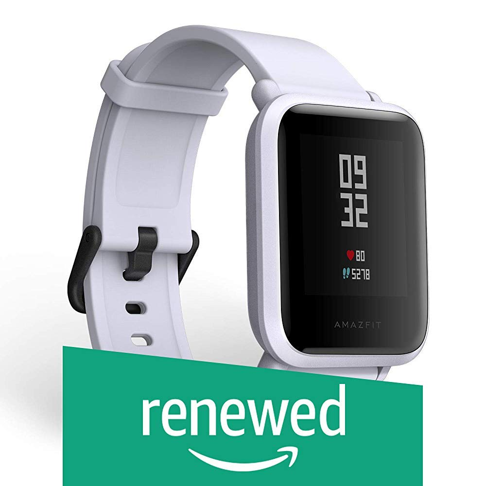 (Renewed) Amazfit Huami Bip Touch Screen Smartwatch A1608 (Cloud White) (B081JC4RRM) Amazon Price History, Amazon Price Tracker