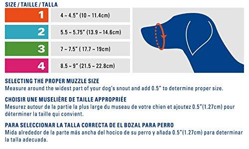 Cesar Millan Funny Muzzle, Smile, Size 3, Yellow