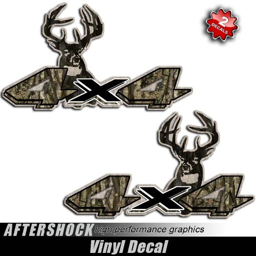 Decals Dakota Truck Hunting Sticker 4x4 Camo Deer