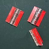 3-Pack Transparent Plastic Acrylic 45mm Continuous