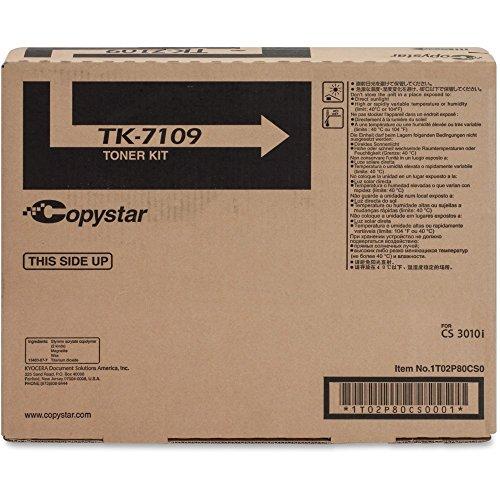 Copystar TK-7109 Black Toner Cartridge 1T02P80CS0, 1T02P-80CS0 -  TK7109